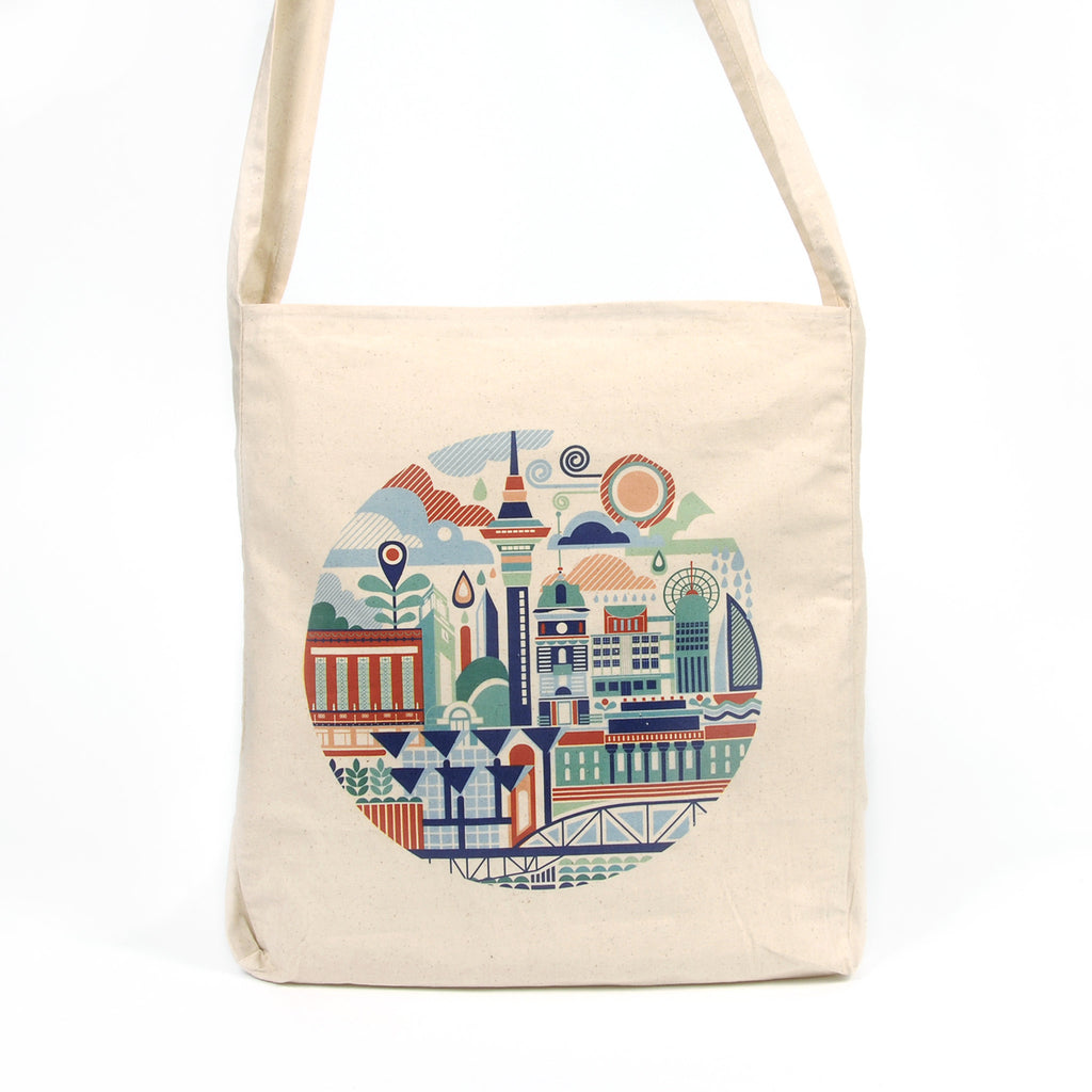 Auckland Art Scape Tote Bag - Auckland Art Gallery Shop