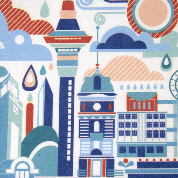 Auckland Art Scape Cushion Cover - Auckland Art Gallery Shop
