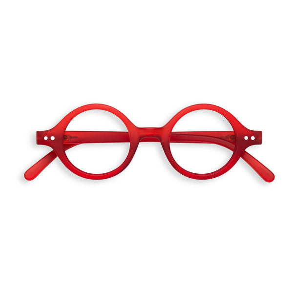 Red Reading Glasses Style J