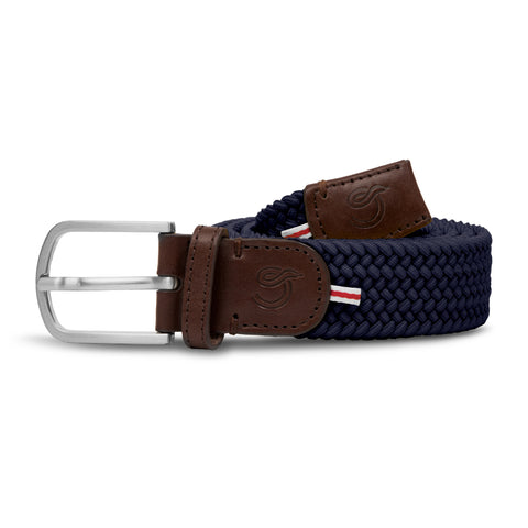 La Boucle Navy Blue Belt