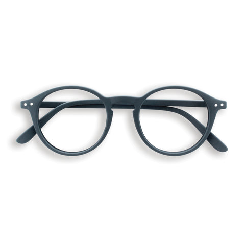 Grey Reading Glasses Style D