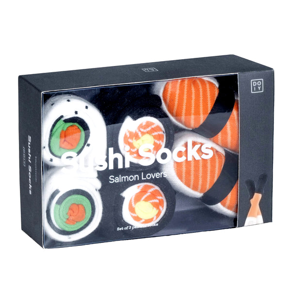 Sushi Socks Pack: Salmon Lovers