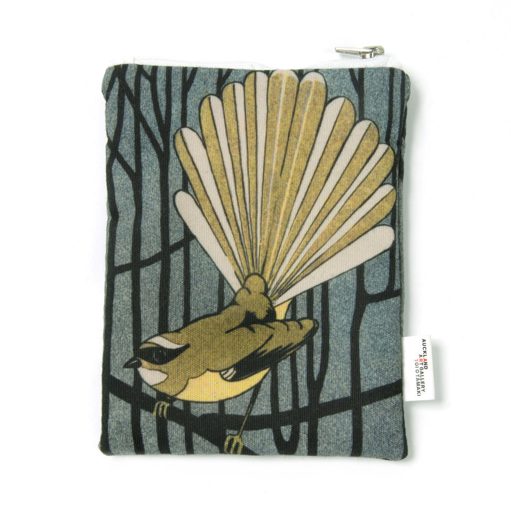 Medium Fantail Purse - Auckland Art Gallery Shop