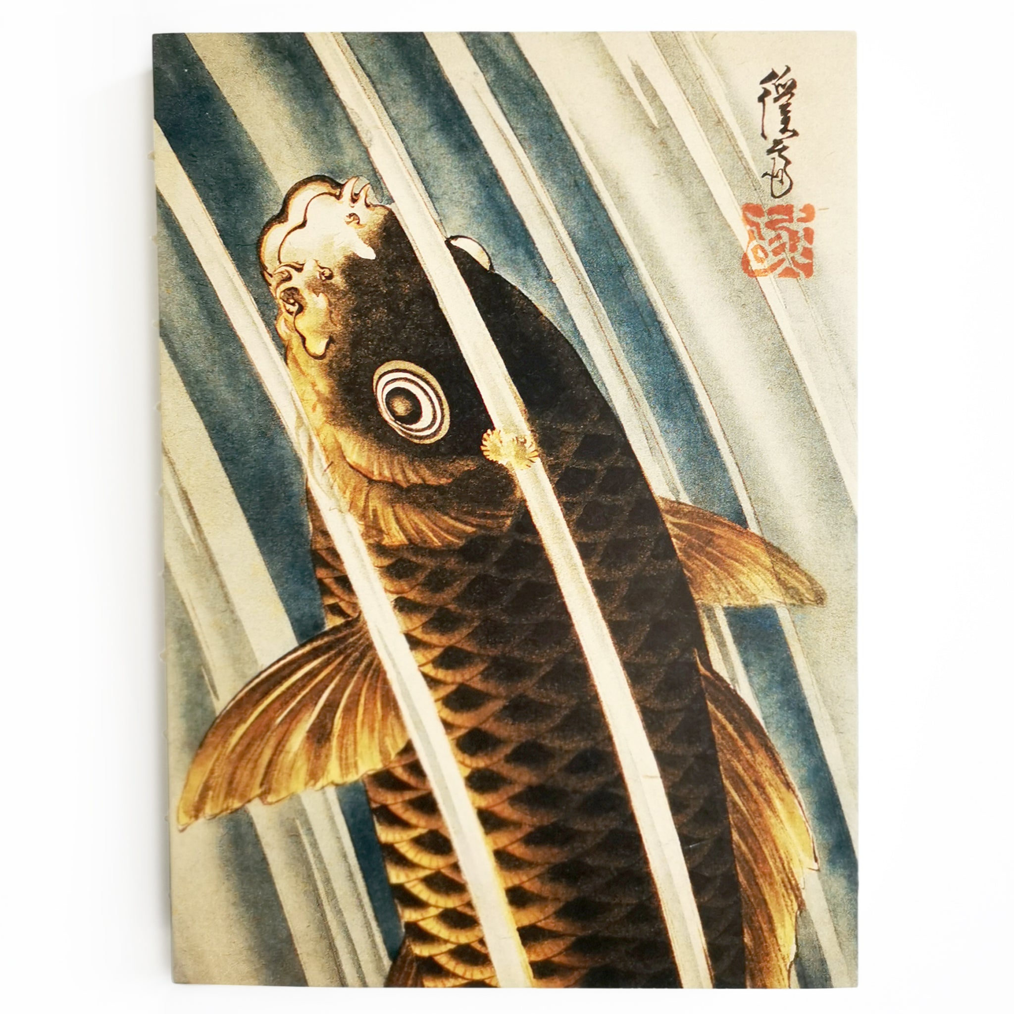Enchanted Worlds Carp Notebook Image
