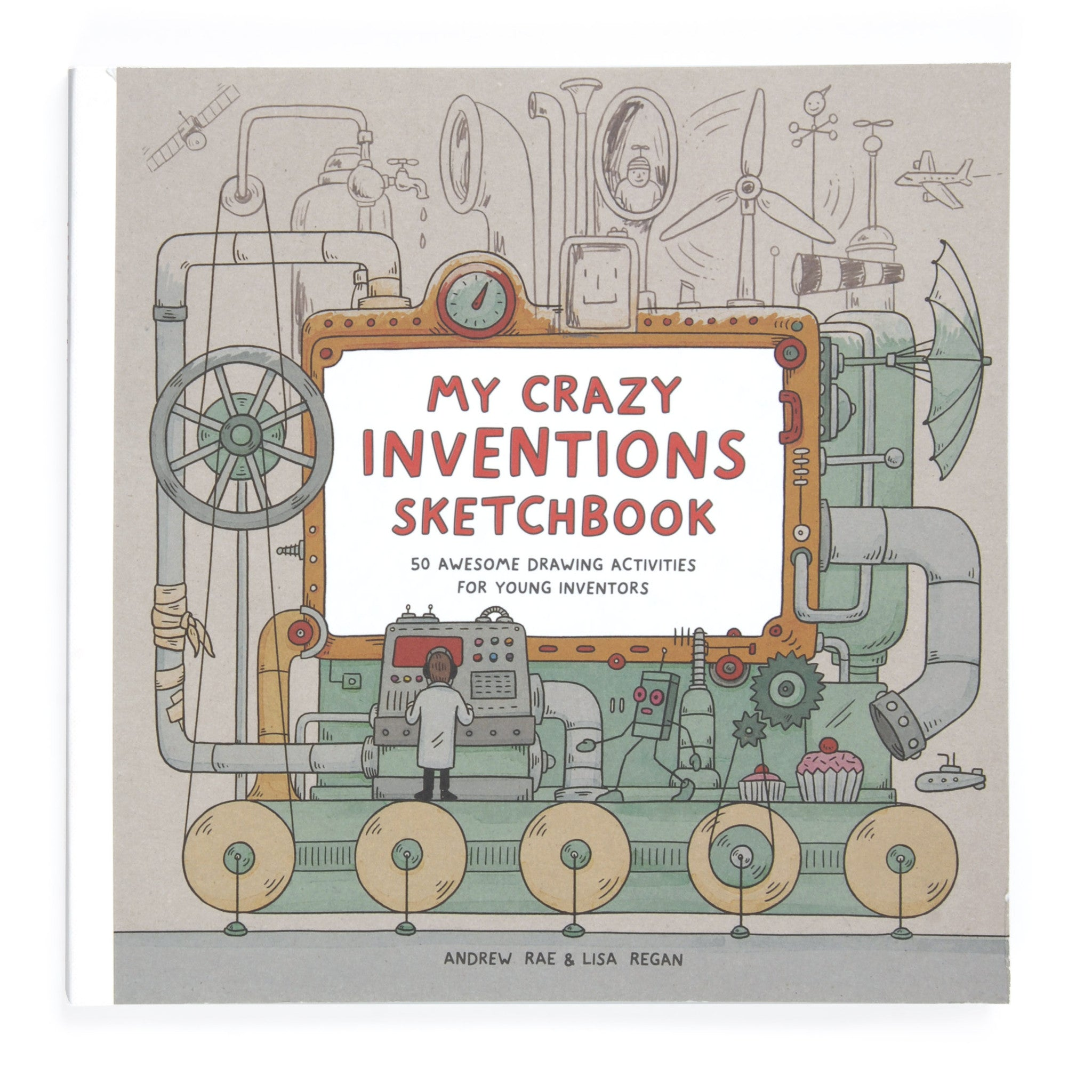 My Crazy Inventions Sketchbook Image
