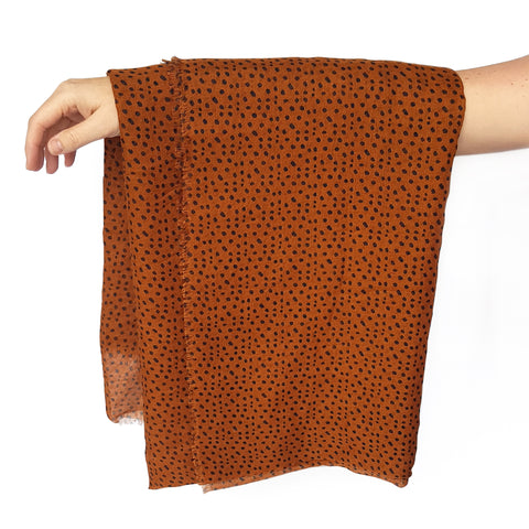 Sophie Store Freckles Spice Scarf Maxi