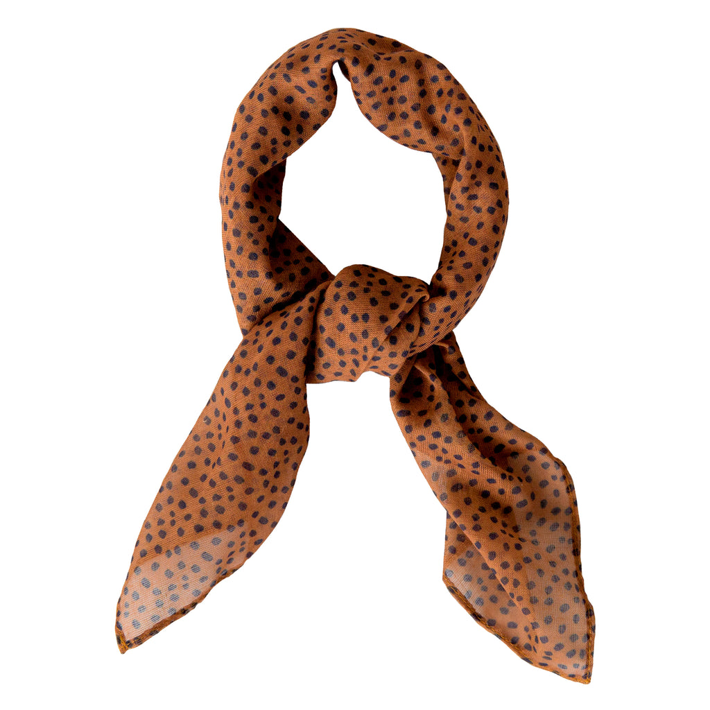 Sophie Store Freckles Spice Scarf Mini