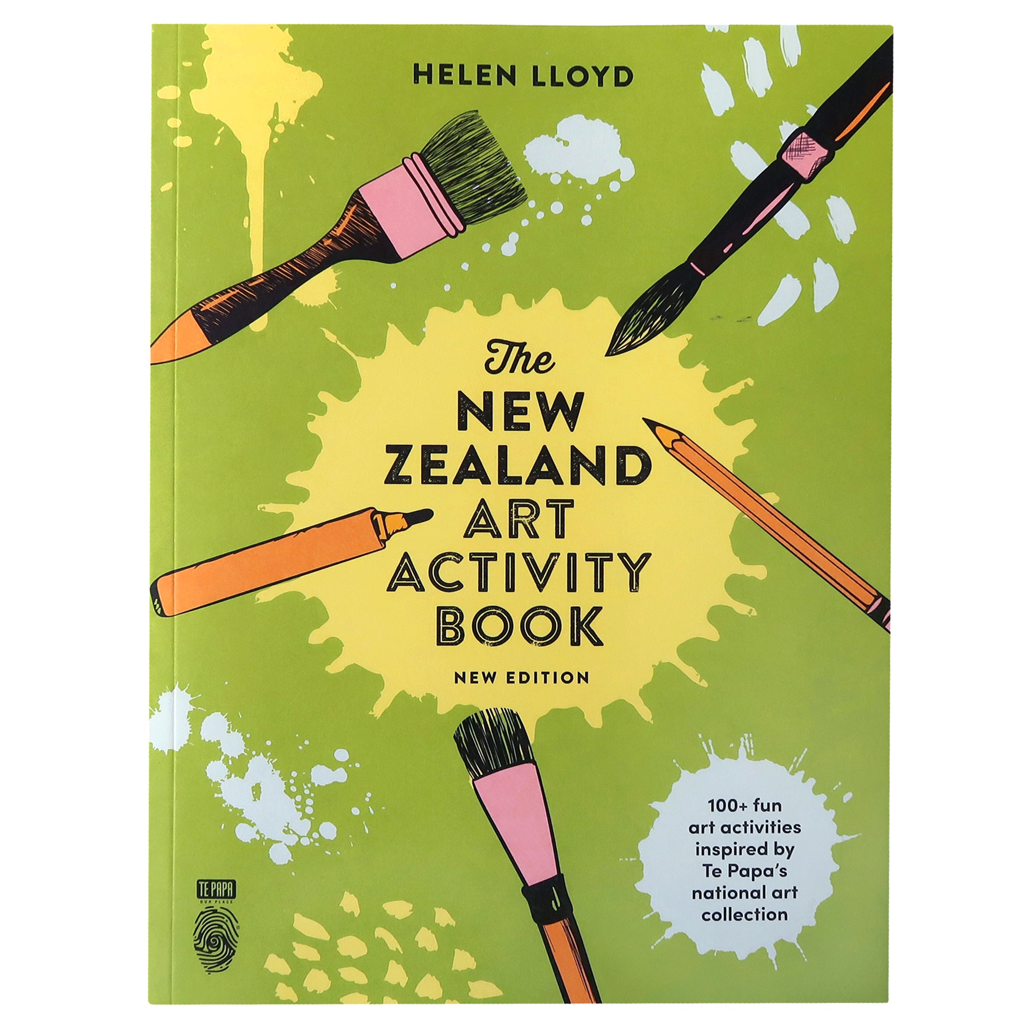 The New Zealand Art Activity Book Image