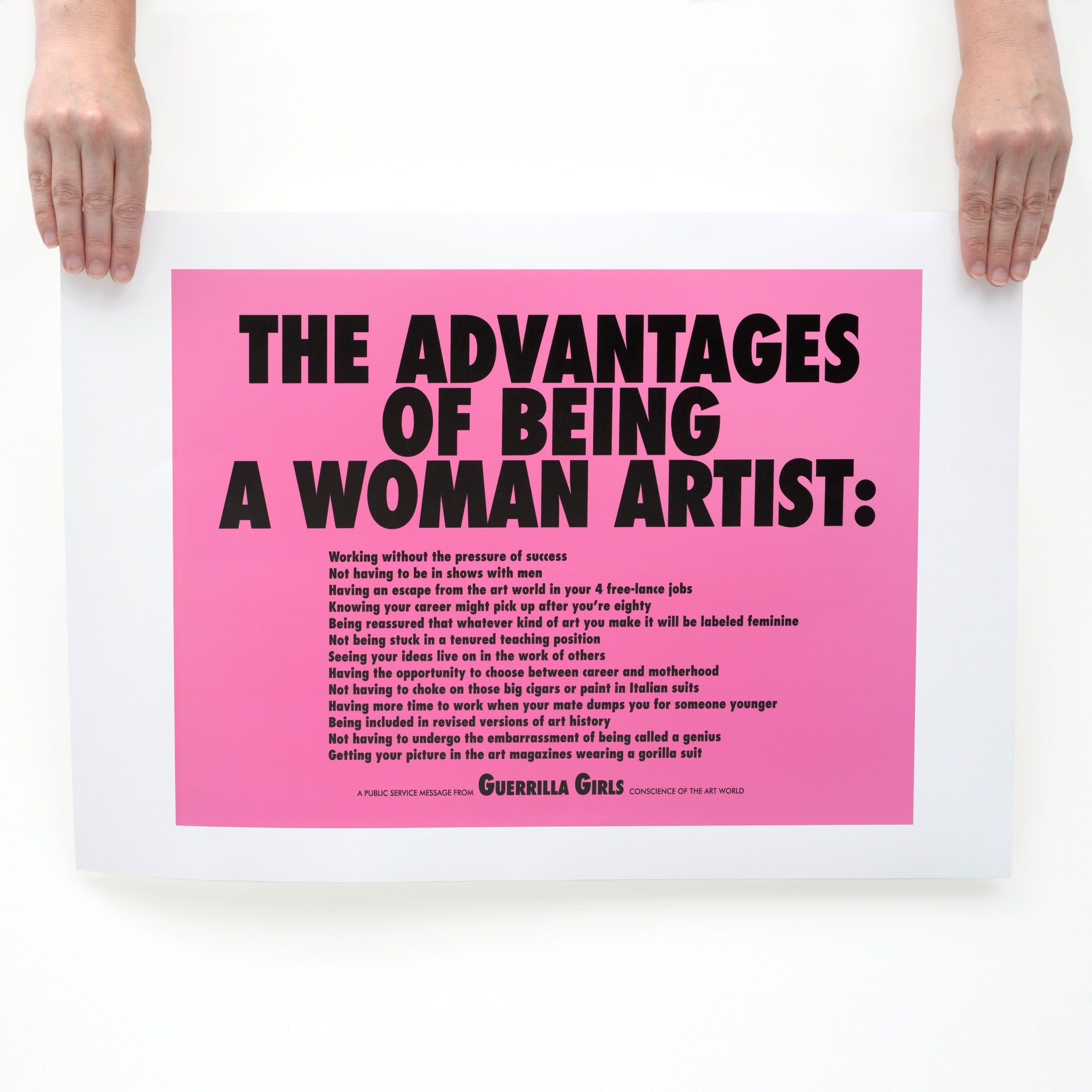 Advantages Of Being A Women Artist Poster Image