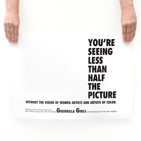You're Seeing Less Poster