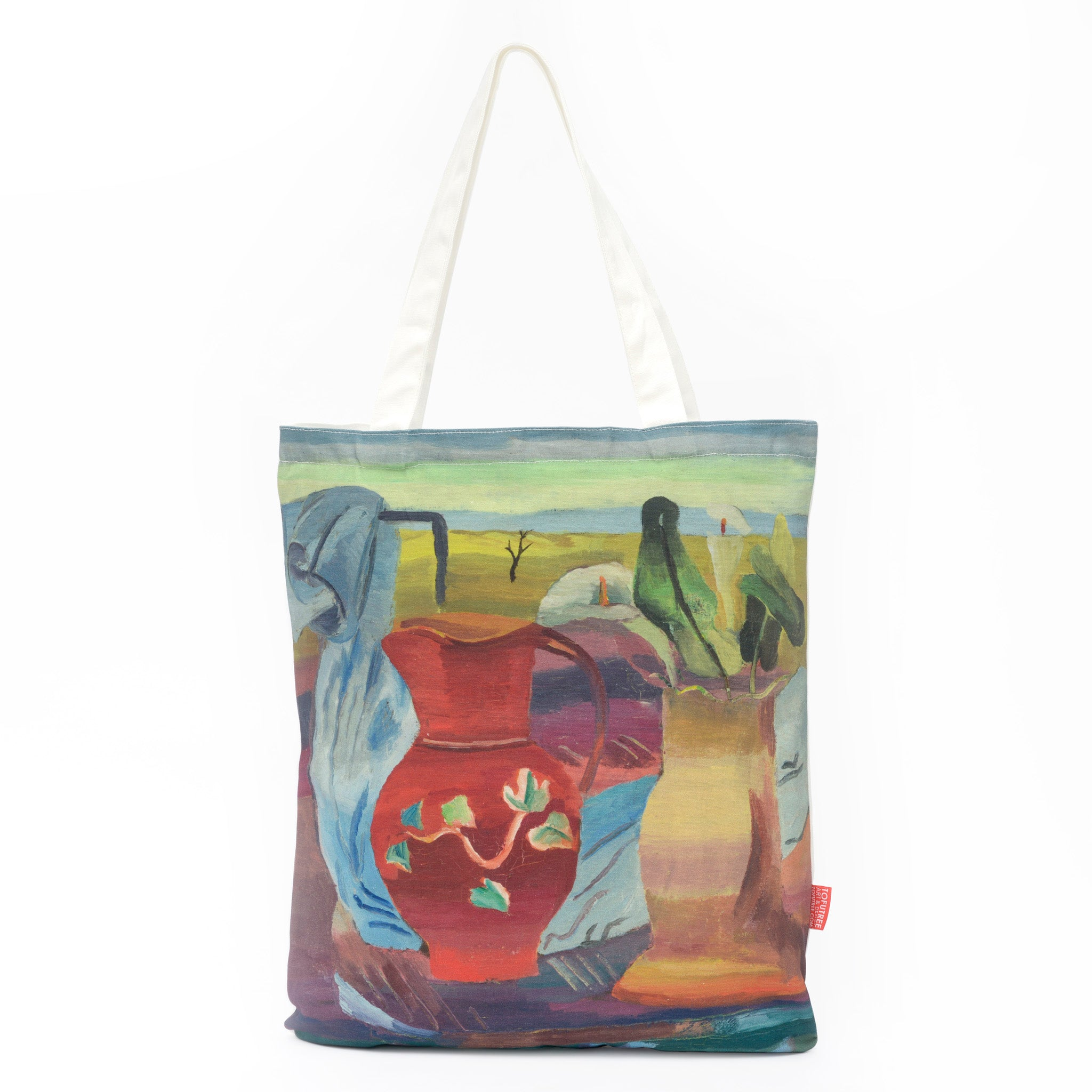 Red Jug Tote Bag Image