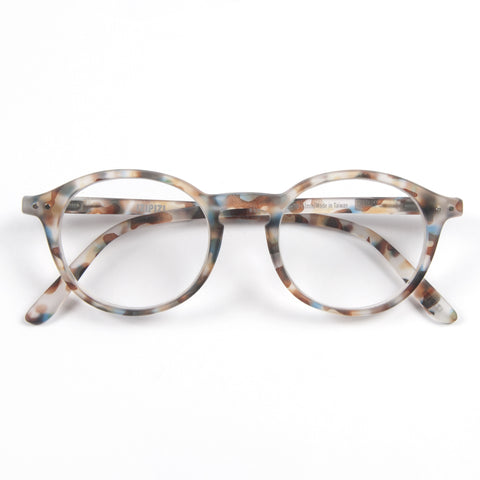 Blue Tortoise Reading Glasses Style D