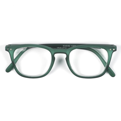 Green Reading Glasses Style E