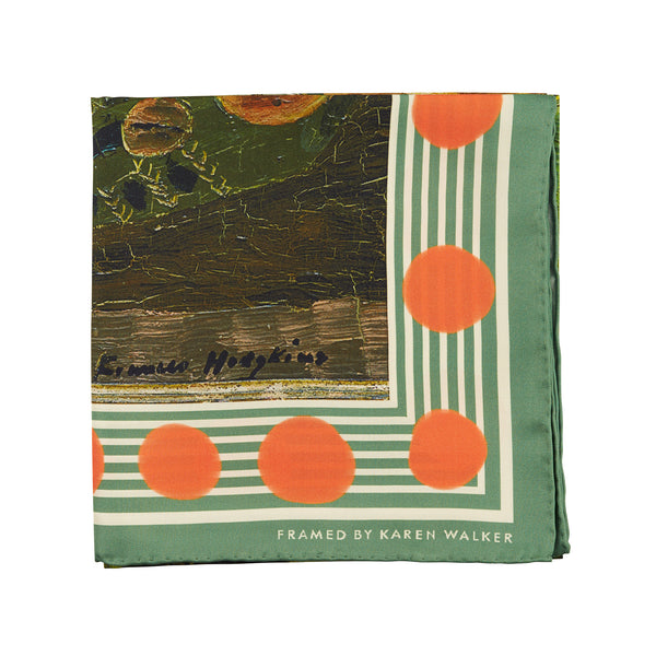Karen Walker X Frances Hodgkins Berries and Laurel Scarf
