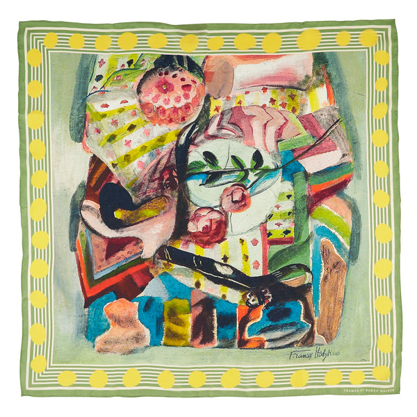 Karen Walker X Frances Hodgkins Self Portrait Scarf