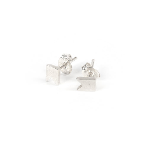 Tiny Ribbon Studs