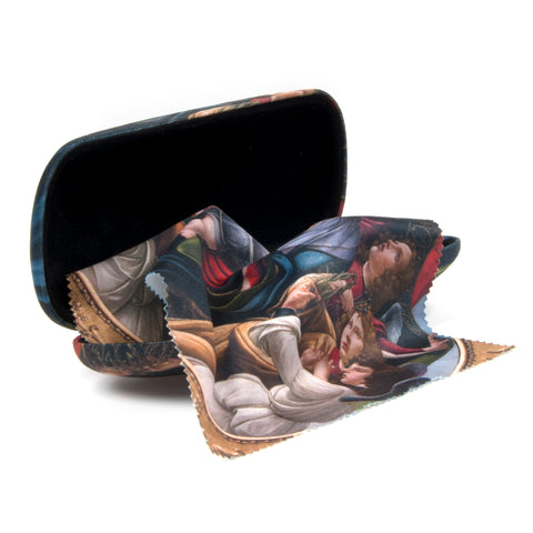 Botticelli 'Madonna and Child' Glasses Case Set