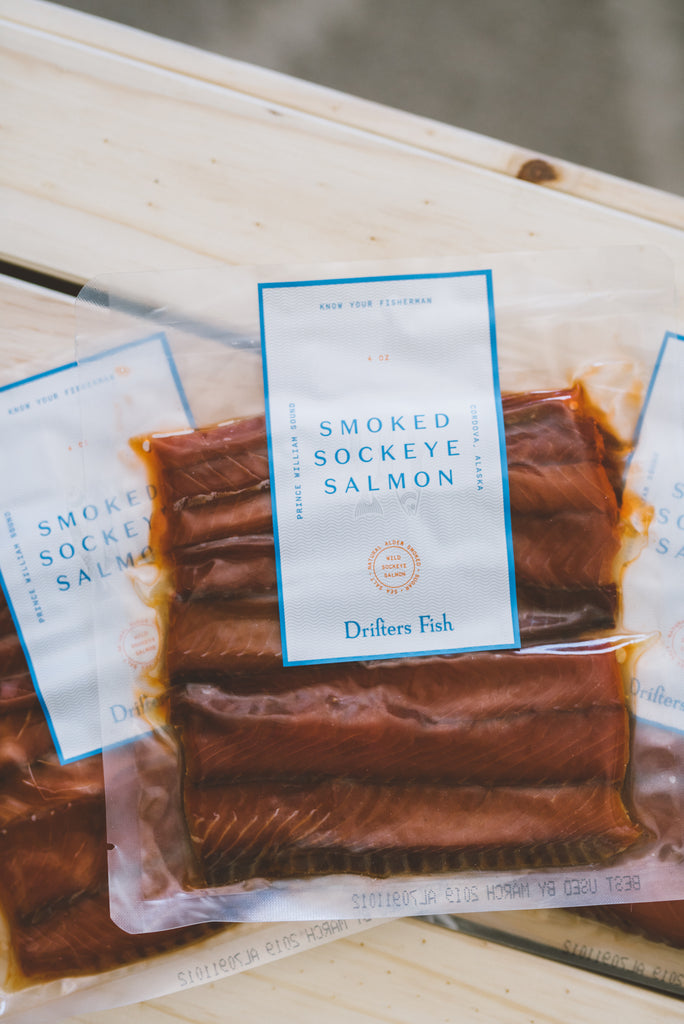 Smoked Prince William Sound Sockeye Salmon