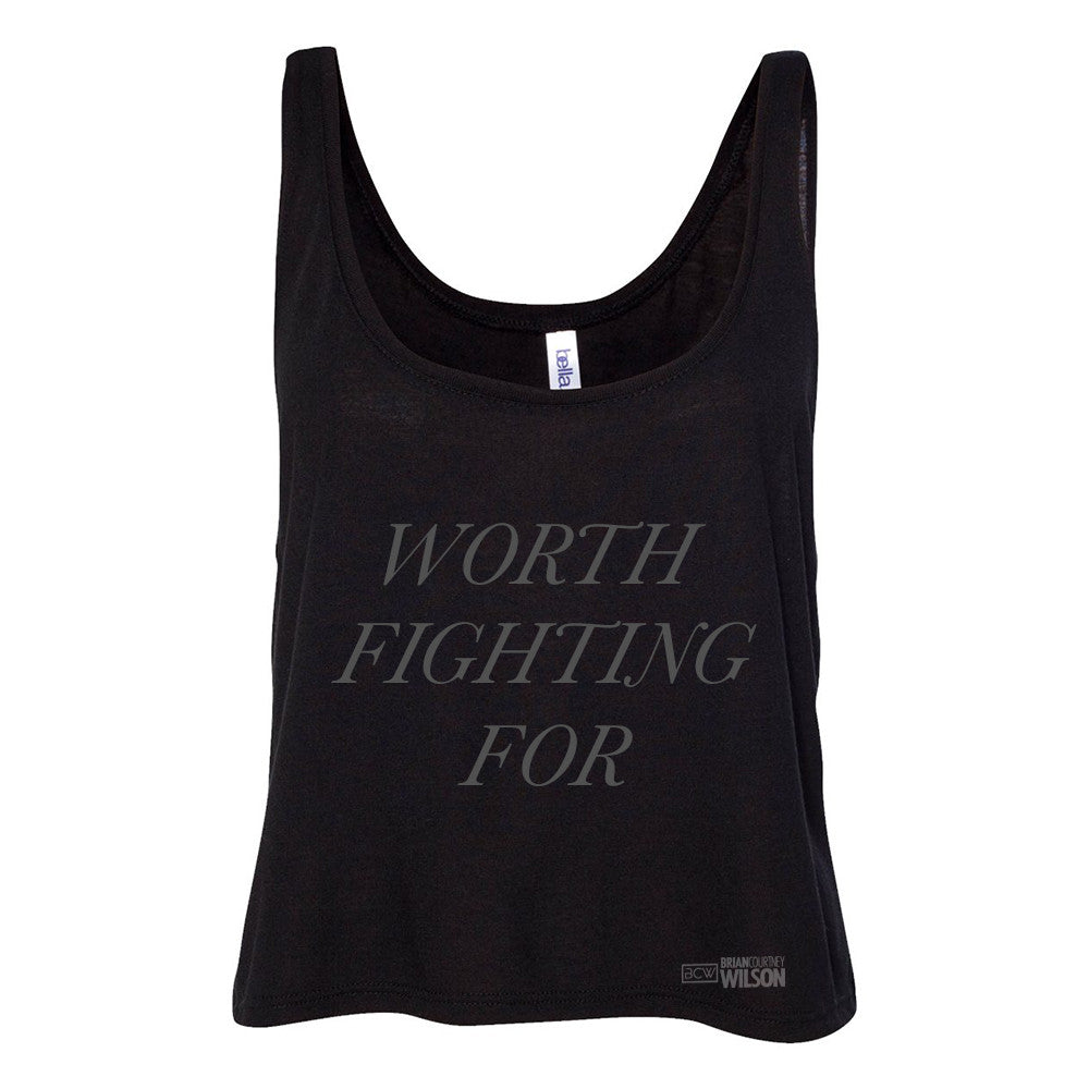 Worth Fighting For Women's Tank