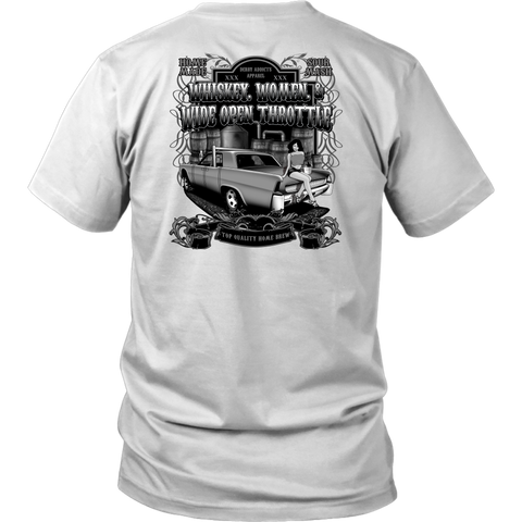 WHISKEY AND WOMAN (GREY DESIGN) OLD SCHOOL