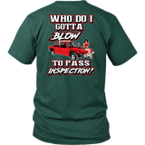 blow shirt mini car