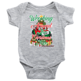 wrecking tree powerwheels onesie