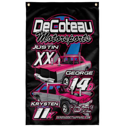 Justin DeCoteau flag