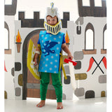 child wearing knight costume blue lovelane designs