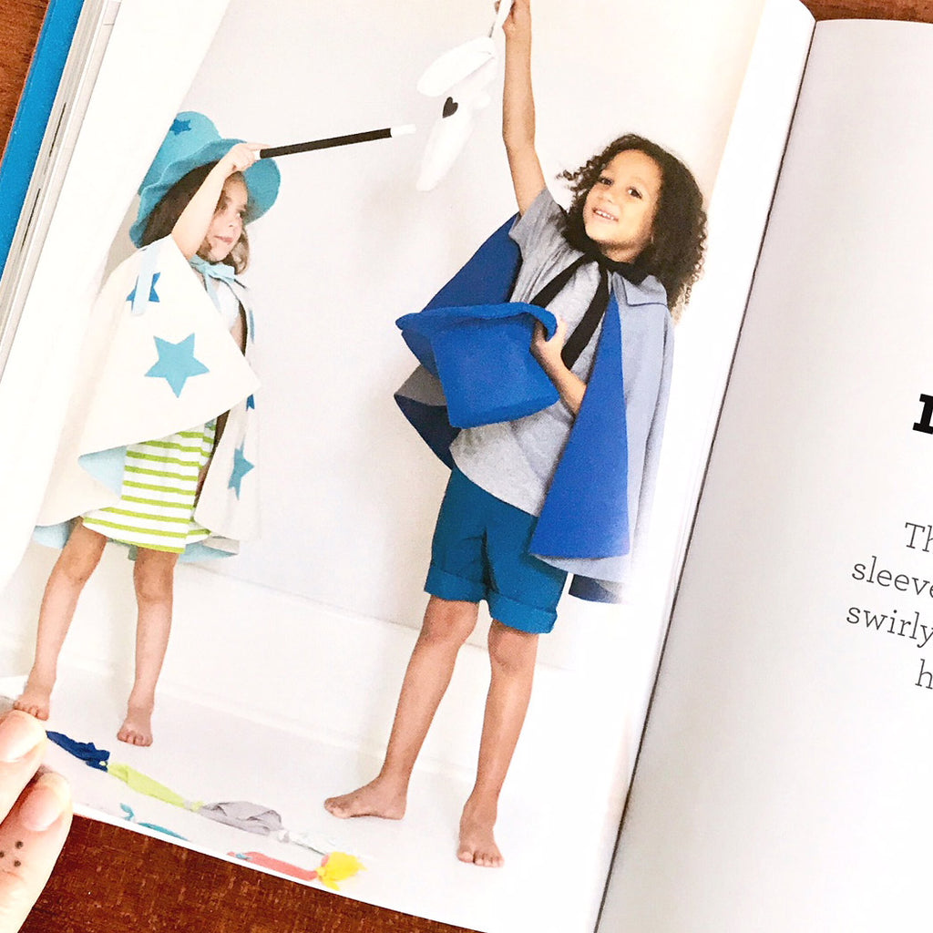 Superhero Sewing: Playful Easy Sew and No Sew Designs for Powering Kids' Big Adventures--Includes Full Size Patterns