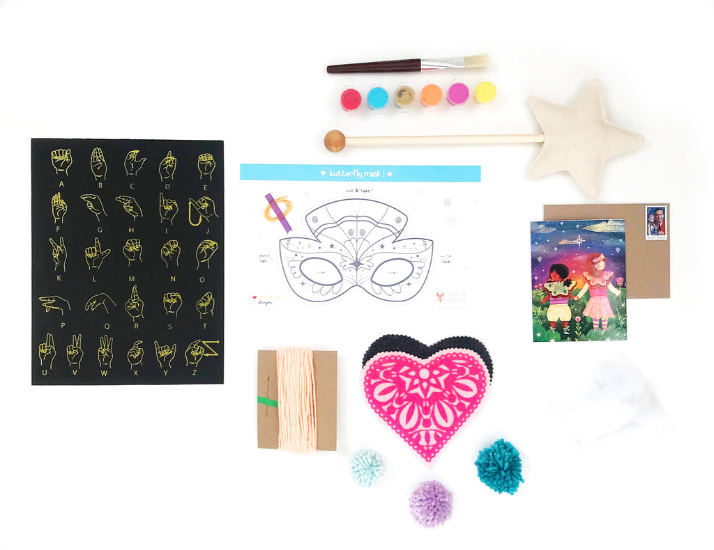 Butterfly Princess Kit (5 projects) + FREE SHIPPING