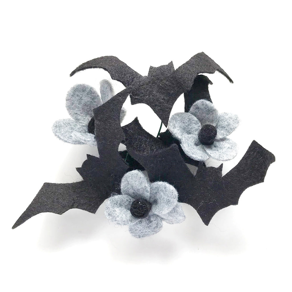 Baby Bat Wings and Crickets Blossom Hair Clip Limited Collaboration