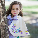 Spring Fling Lavender and Mint Capelet