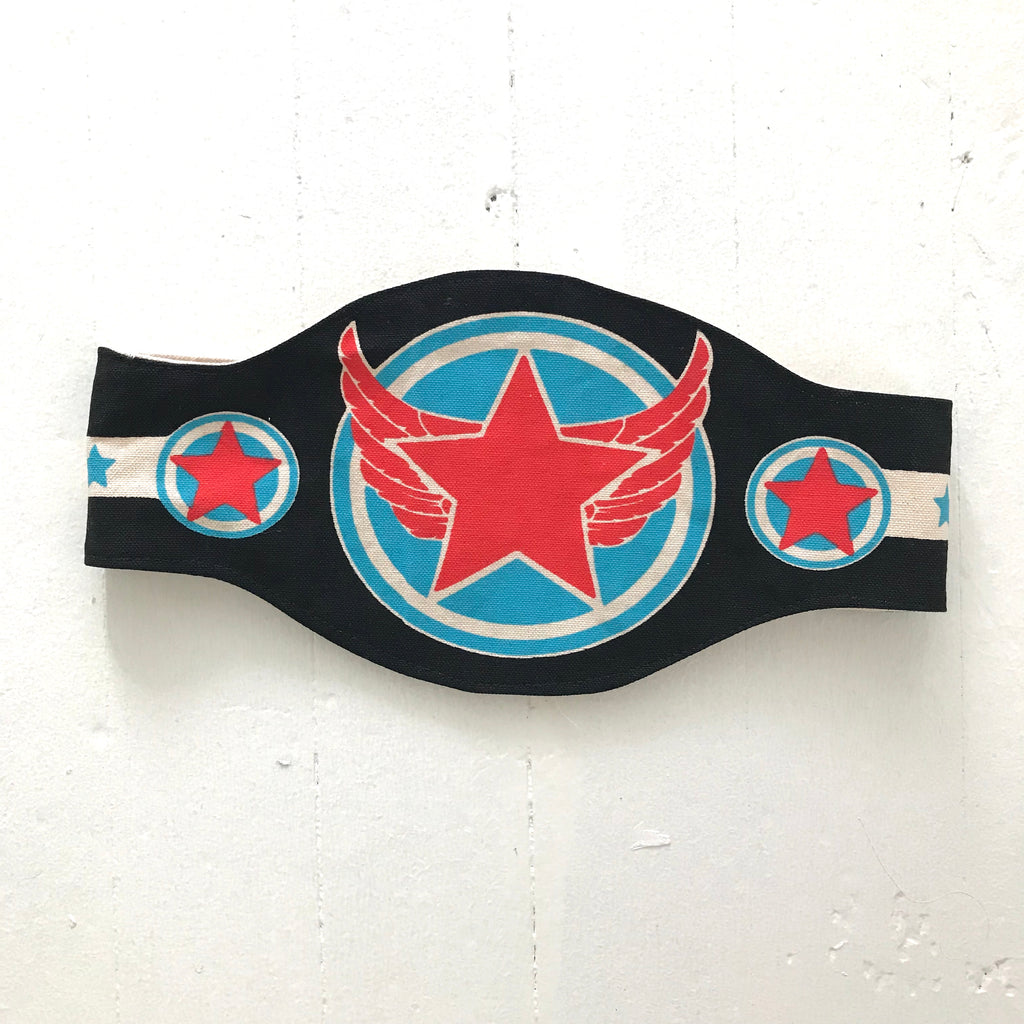 Blue Tiger Champ Belt