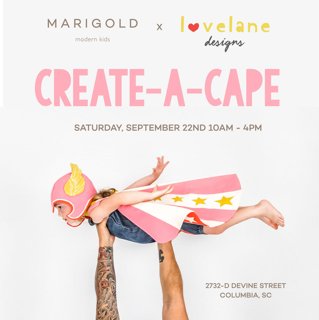 Create-A-Cape at Marigold Modern: APPOINTMENTS