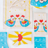 Child's Play Kitchen Mini Tea Towel + Pretend Oven Mitt Gift Set for your Little Sous Chef