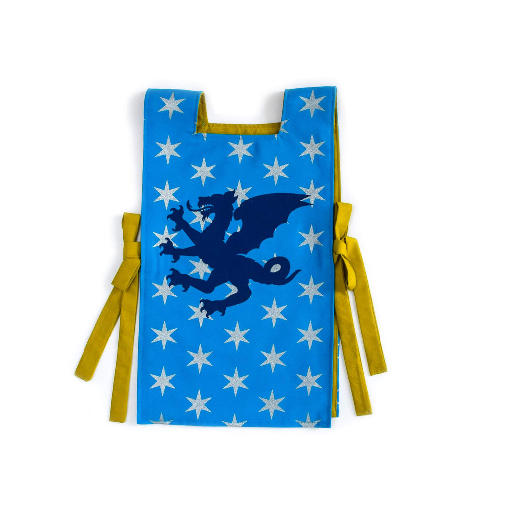 knight tunic costume child blue dragon lovelane designs