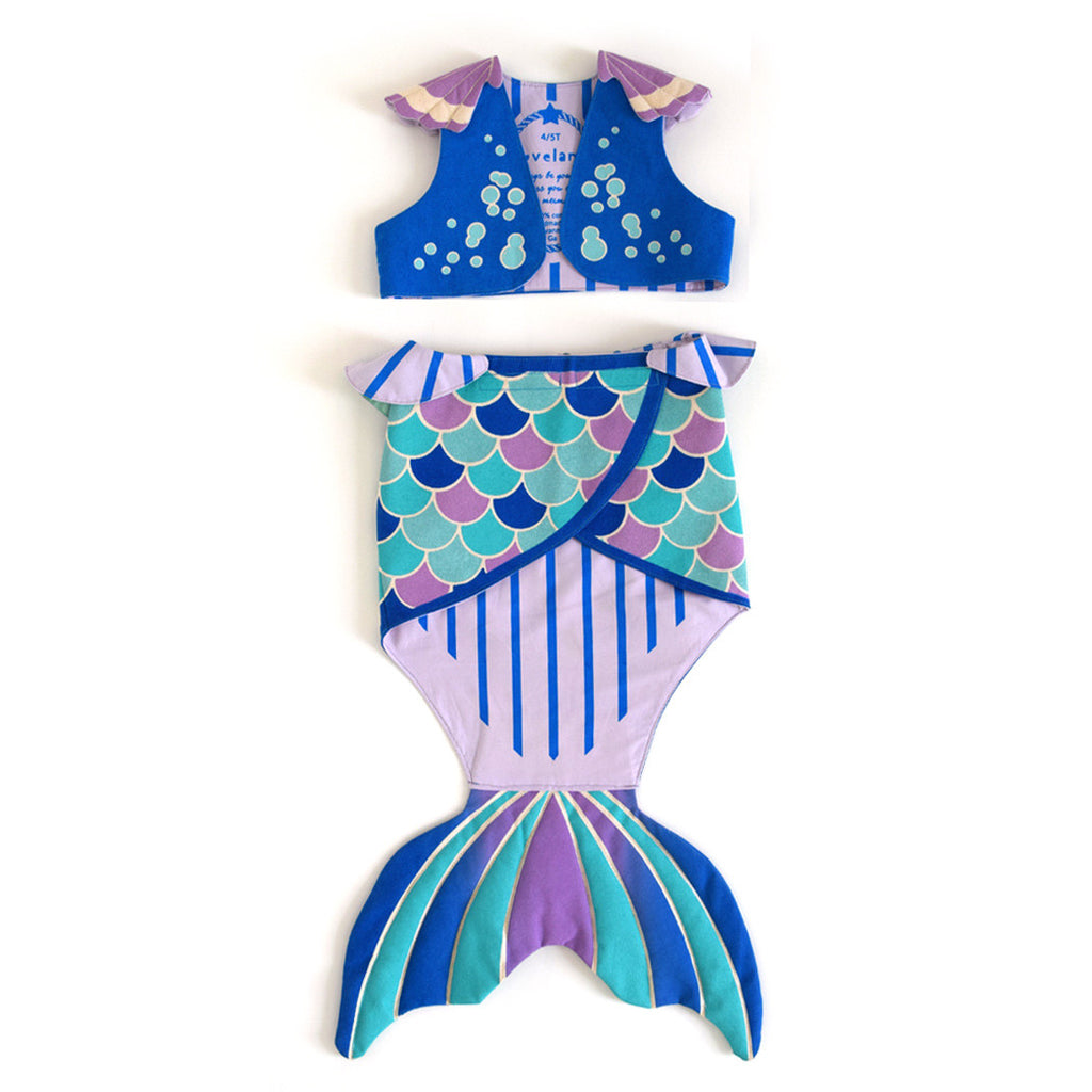 Mermaid Set, Vest and Tail