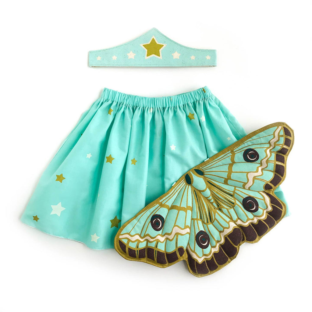 mint butterfly wings costume skirt tiara lovelane designs
