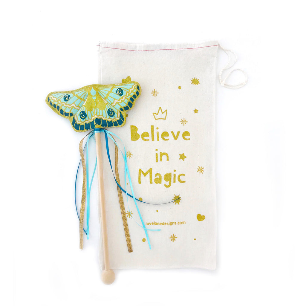 Mint Butterfly Wand