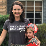 Mother of dragons T-Shirt, screen printed, by Lovelane designs