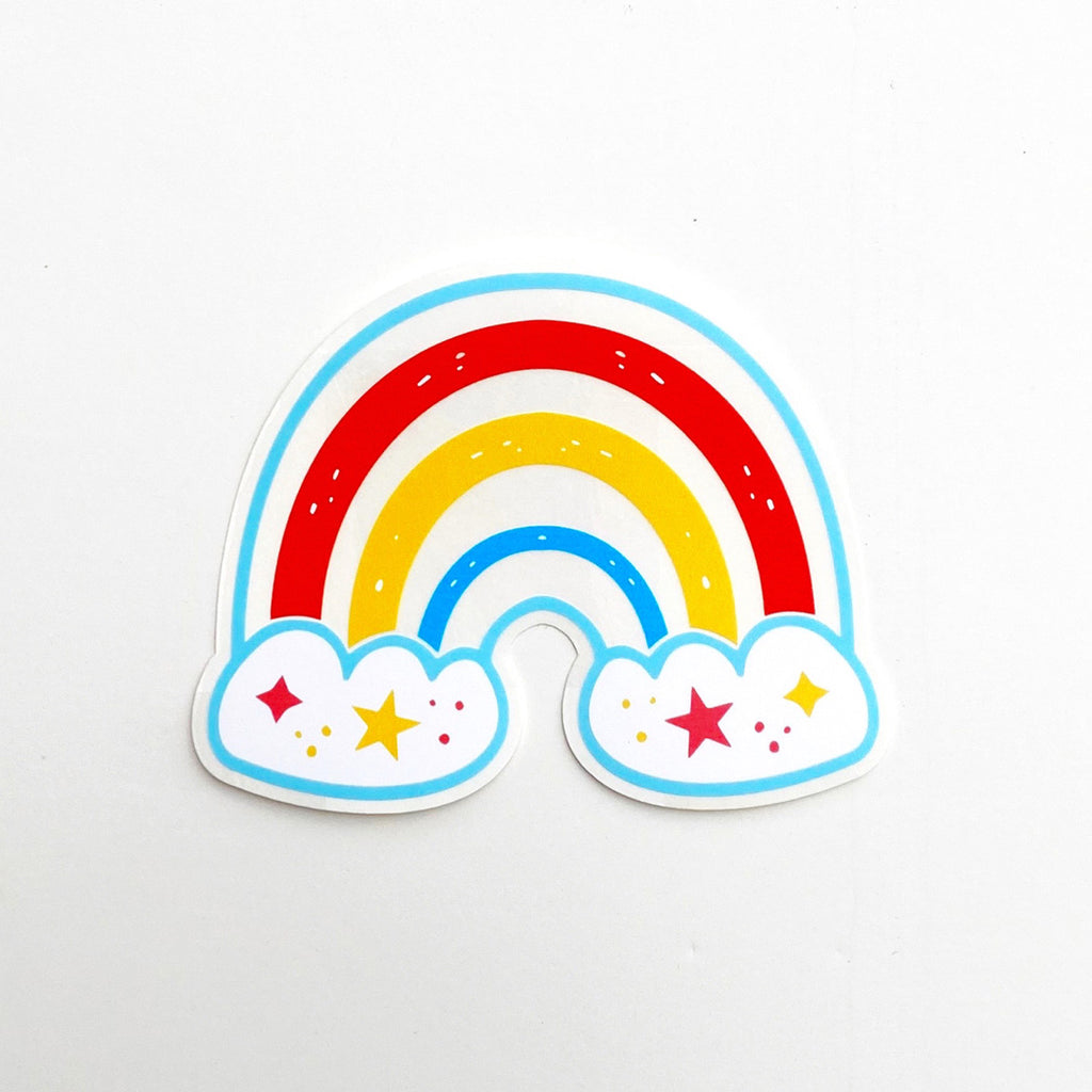 Rainbow Maker, Sun Catcher RAINBOW Sticker Single