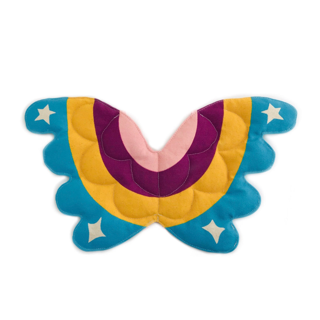 Last of Collection: Rainbow Magic Quilted Wings with adjustable straps Ready to Ship