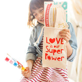 Valentine Edition: Paint Your Own Kit, Super Tiara, Love is our Super Power