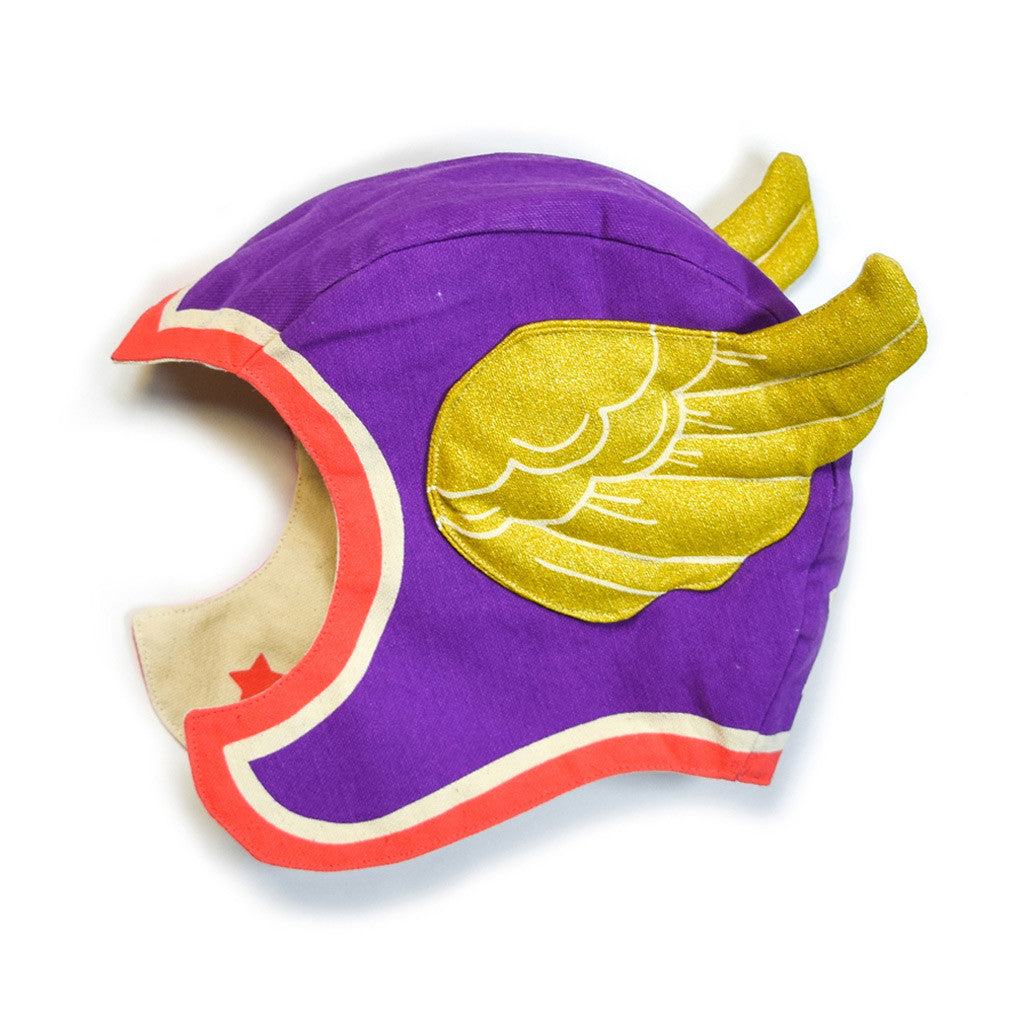 Purple Flying Super Hero Hat
