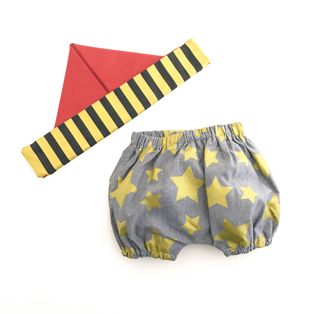 Little Swashbuckler Set - Bloomer and Limited Edition Paper Hat