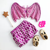 Limited Edition Pink Baby Dragon Wings