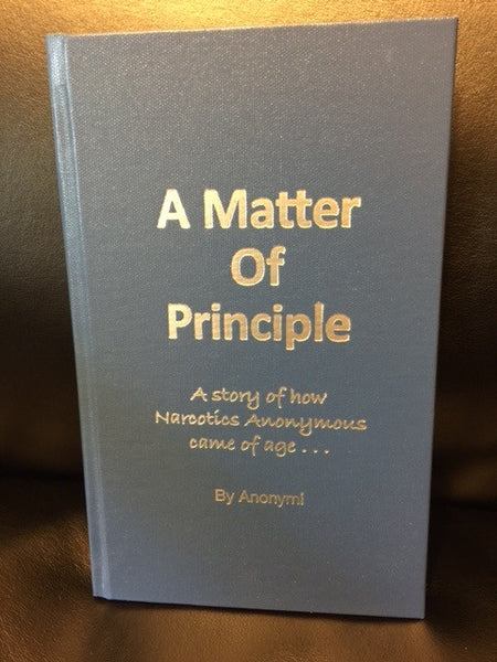 """A Matter of Principle"" by Anonymi, Hard Cover"