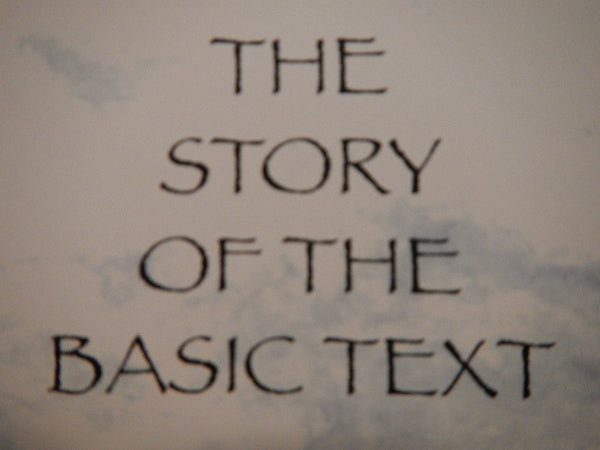 "The Story of the Basic Text ""Free Digital Download"""