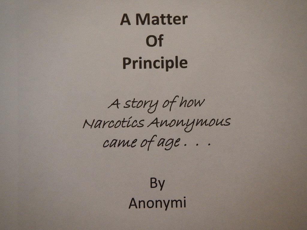 "A Matter of Principle, Anonymi ""Free Digital Download"""