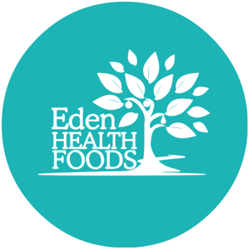 Image result for eden health foods logo